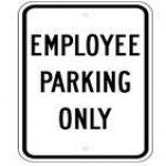 Employee Parking Signs (1)