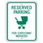 Reserved Parking Signs (5)