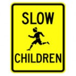 Traffic Signs For Kids -Slow Children